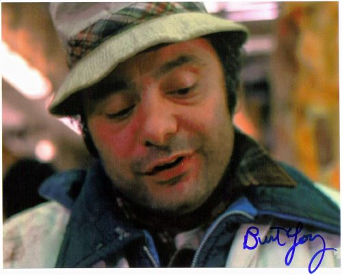Burt Young - 8x10 - TV and Movies - The Autograph Guys ...