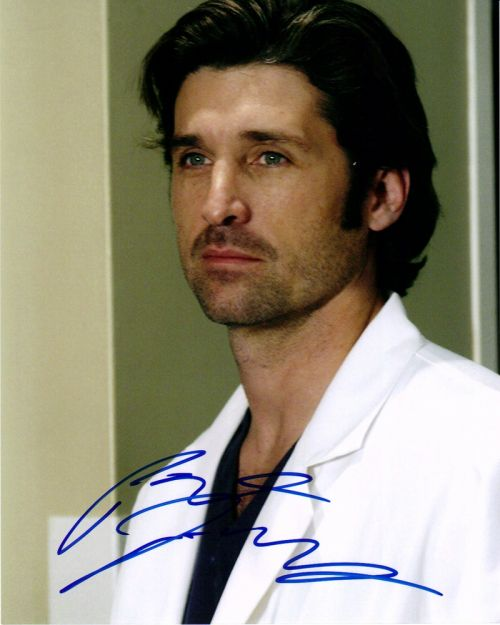 Patrick Dempsey 8x10 Tv And Movies The Autograph Guys